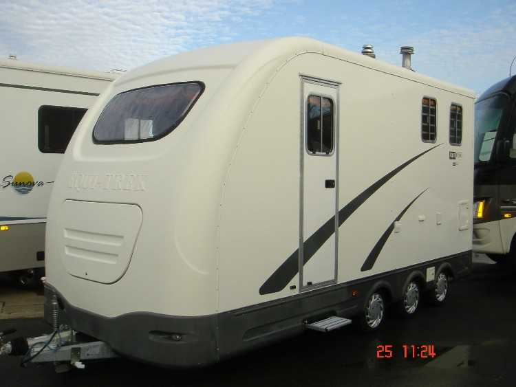 2008 EQUI-TREK MOTORCYCLE CAMPING TRAILER 2 BERTH