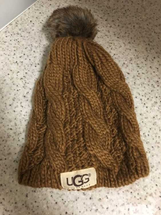 *NEW IN BOX* Brown Ugg Hat. One Size Fits All.