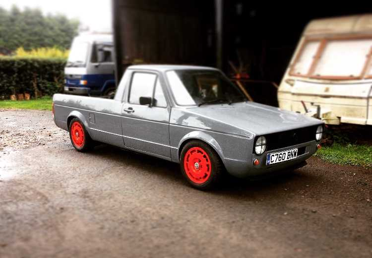 Vw Caddy Mk1 1.6D lowered , MOT August17 129k
