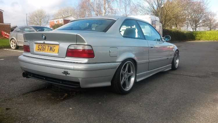 STUNNING BMW E36 328I SPORT, Manual, Lowered, swap
