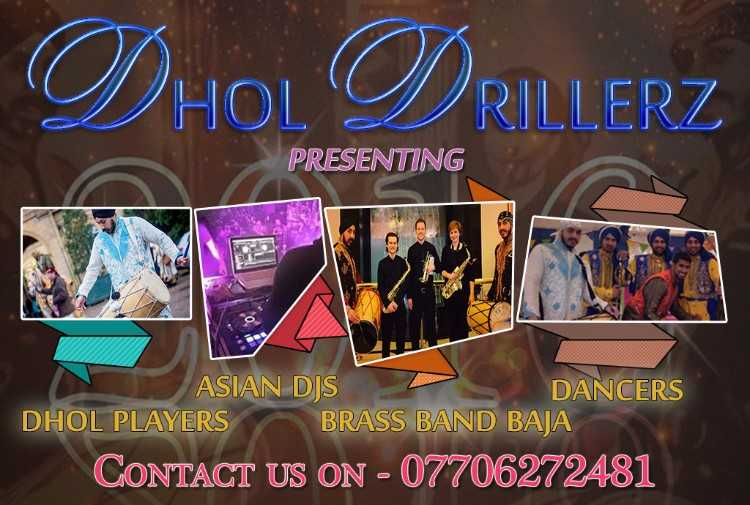 dhol players wedding asian djs band baja bolton