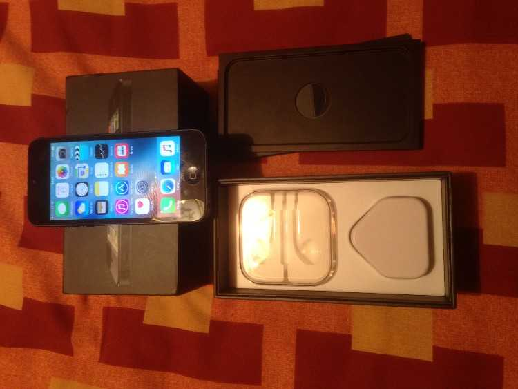 APPLE IPHONE 5 SMART PHONE EE ORANGE 16GB