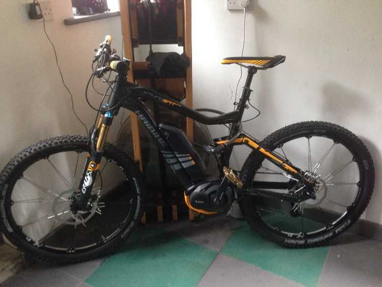 Haibike Xduro AMT Pro electric bike