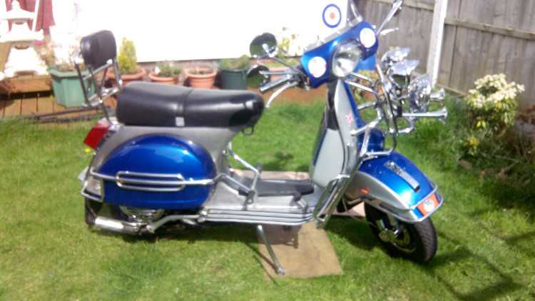 LML STAR 180cc 2 STROKE SCOOTER BADGED AS VESPA