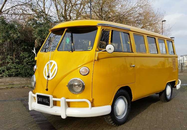 T1 1973 VW SplitScreen Kombi Bus