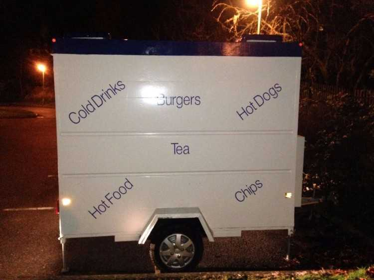 Excellent Condition Catering Trailer Job Lot With
