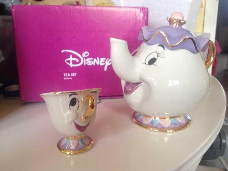 Walt Disney - Mrs Potts & Chip Tea Set