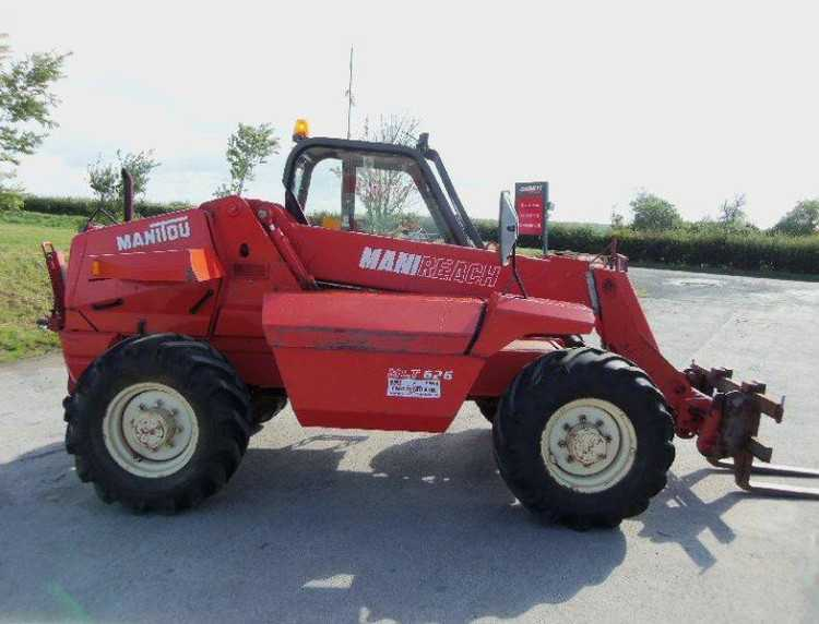manitou or jcb telehandler, wanted early model in