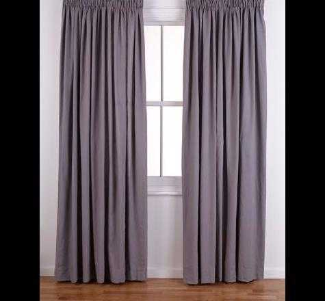 ColourMatch Pencil Pleat Curtains- 168x229cm - Smo