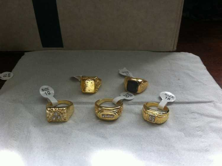 Men's Gold Plated Rings