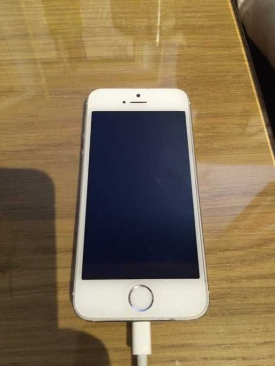 iPhone 5S 16GB White faulty