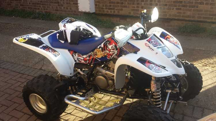 Suzuki LTZ 400cc off road quad