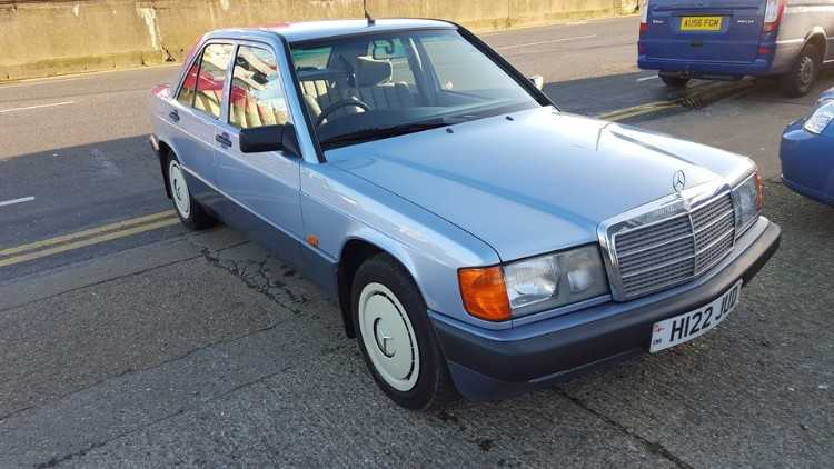 1991 Mercedes 190E 1.8cc Petrol Manual