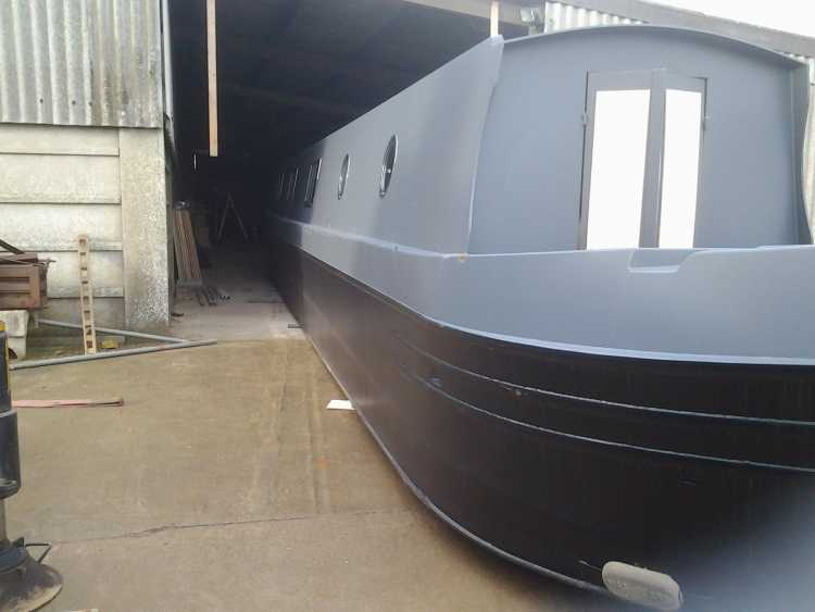 Brand new 57ft Narrowboat / Canal boat semi trad