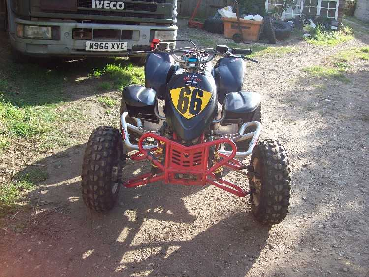 Quadzilla Proshark R MX 100 Quad Bike
