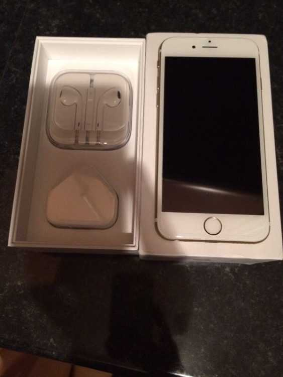 IPHONE 6S 16GB GOLD BRAND NEW ON EE