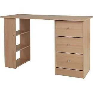 Malibu 3 Drawer Desk.JPG