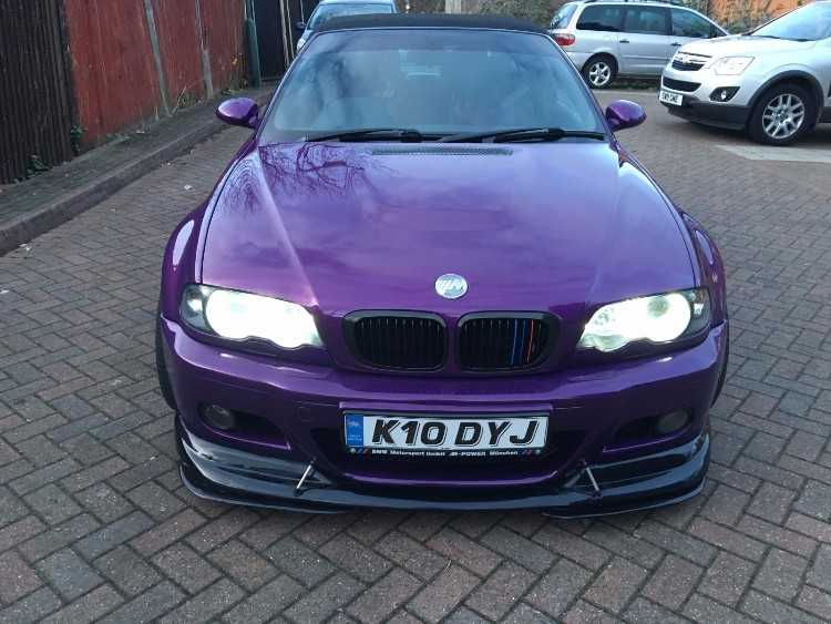 Must view amazing one of wide body bmw m3 converti