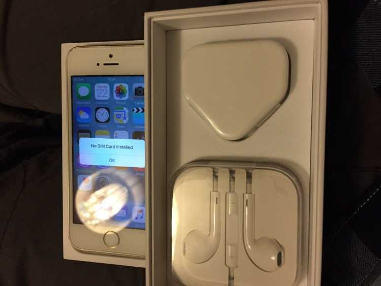 Iphone 5s gold 16gb on ee, virgin, tmobile