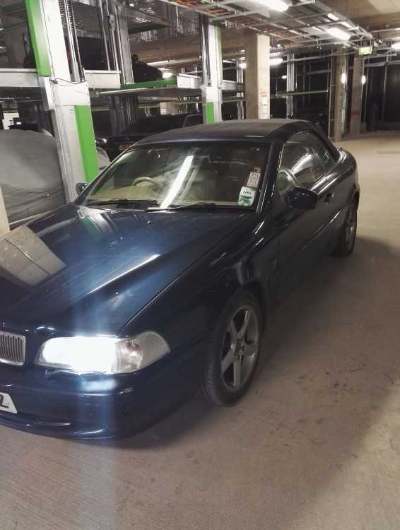 VOLVO C70 CONVERTIBLE AUTO ,LPG FITTED,DRIVE CHEAP