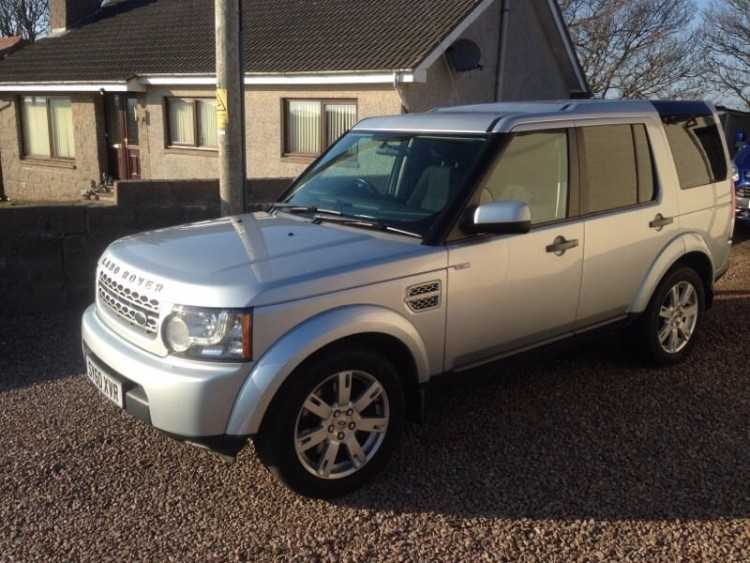 Land Rover discovery 4 TDV6 GS