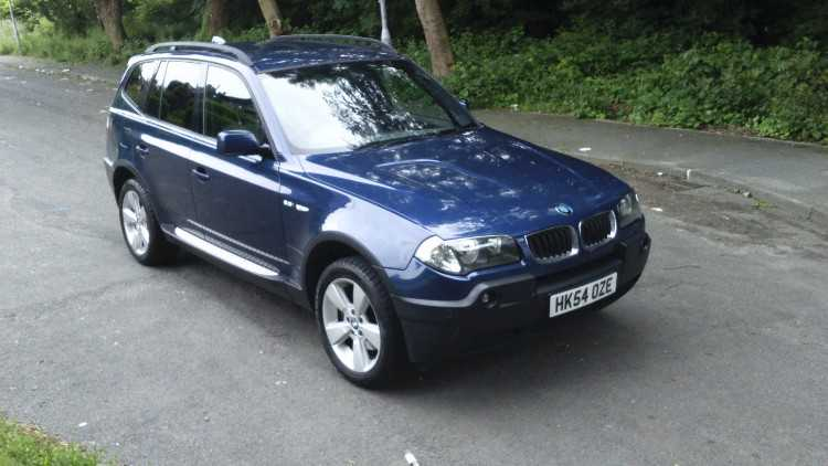 BMW X3 2.5i sport manual. very good condition