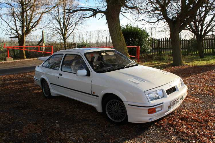 Superb Ford Sierra RS 1986