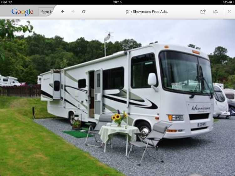 American motorhome four winds hurricane 31H 2008