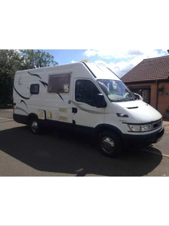 Iveco daily campervan/motor home 2002