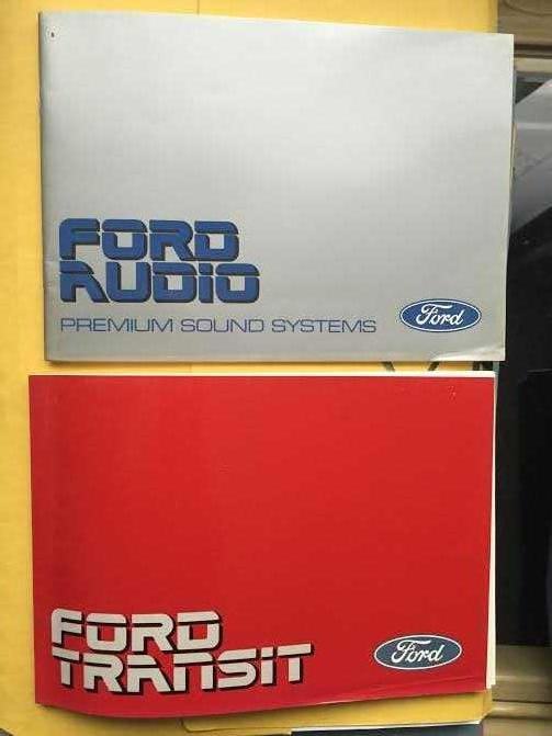 2 Ford Transit Manuals