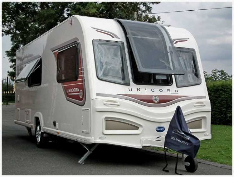 Bailey Unicorn Madrid with Mover 4 berth 2013