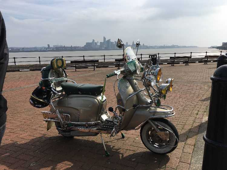 Lambretta golden special scooter