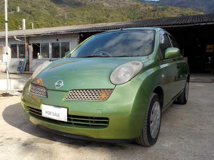2005 NISSAN MICRA 1.0 5DR PETROL GREEN AUTOMATIC