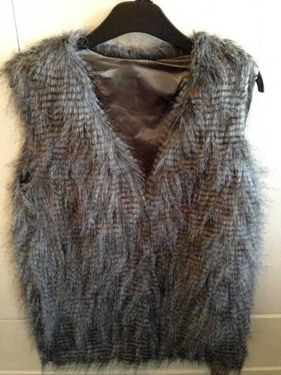FAUX FUR GILET 4 COLOURS