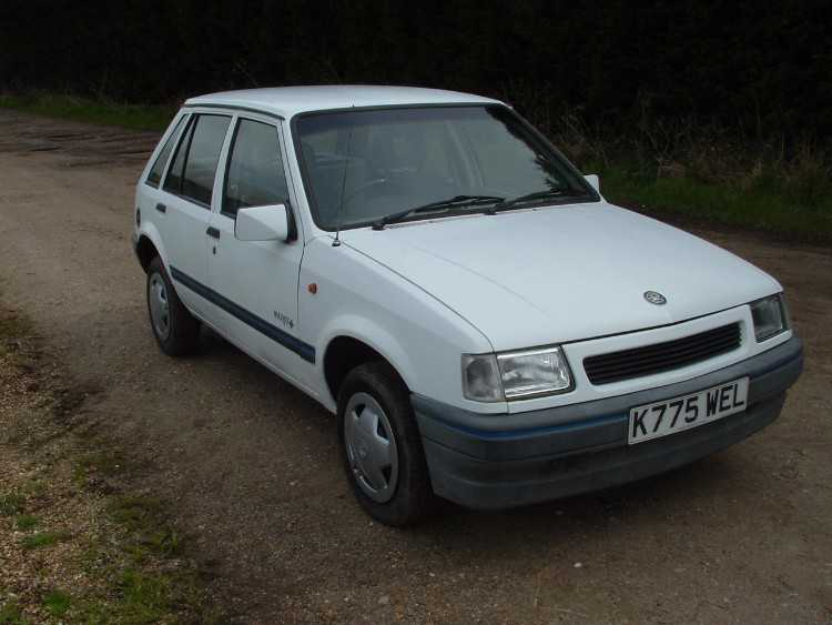 Vauxhall Nova 1993 1.4i 5 speed Merit Plus