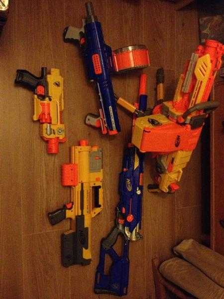 Selection of Nerf guns Great for Christmas!!!!!!!!