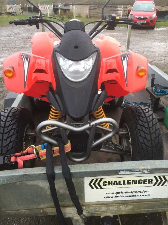 Quadzilla 250 road legal 2015