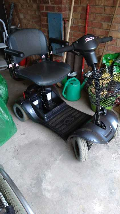 Kymco Mini LS Car Boot Mobility Scooter
