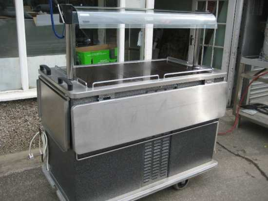 Moffet hot and cold food server /hostess trolley.