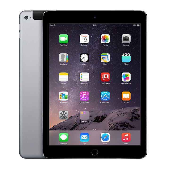 iPad Air 2 Space Grey 64GB Wi-Fi + Cellular (4G) -