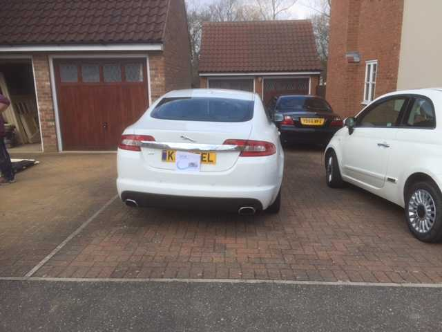 JAGUAR XF WHITE 245BHP