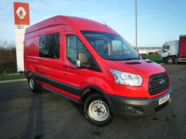 Ford Transit 350 125PS LWB D/Cab Van (7 Seats)