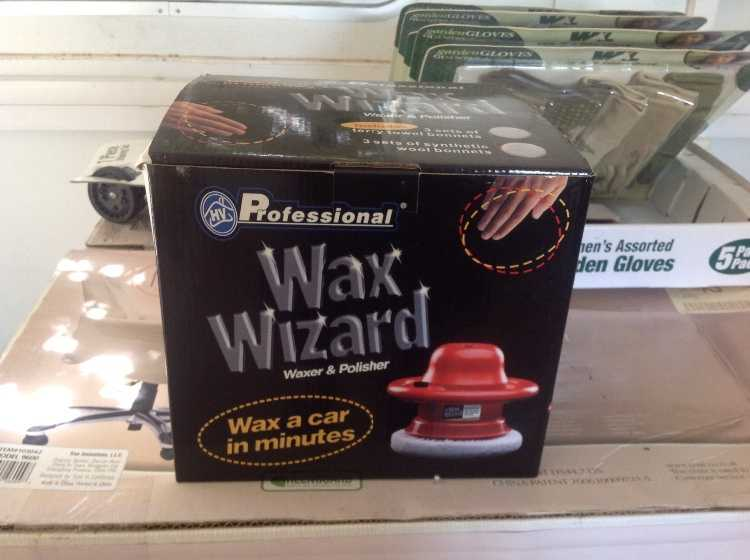 Professional waxer and polisher