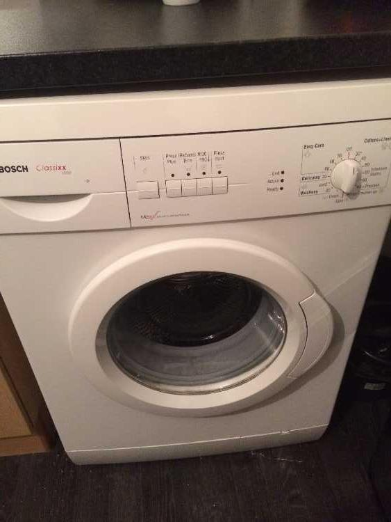 White Bosch Washing Machine (COLLECTION ONLY)