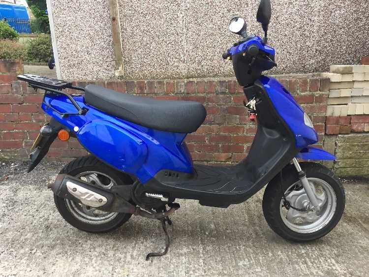 TGB 50 cc scooter moped