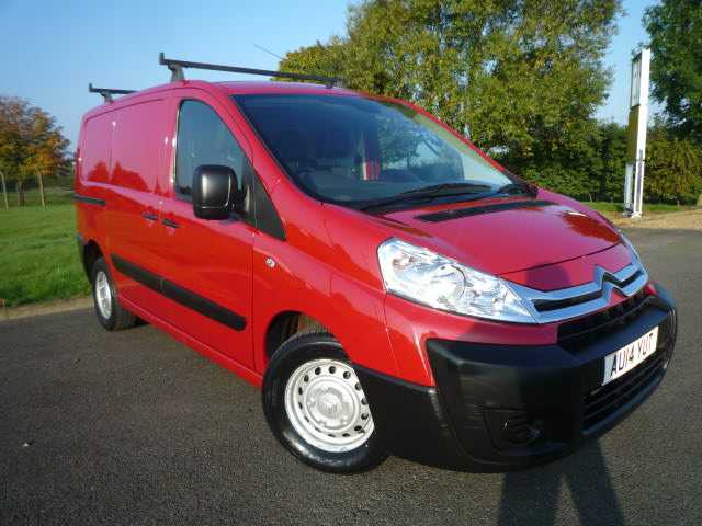 Citroen Dispatch 1000  L1 Hi Van in Red