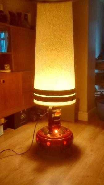 West German floor lamp.