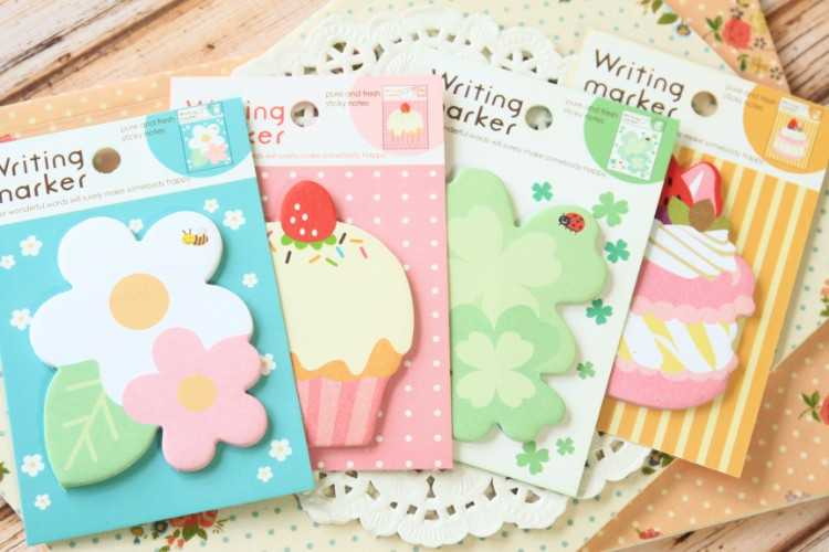 Cute Cartoon Writing Marker Sticky Note/Memo Pad