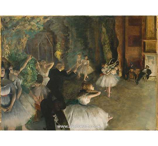 Buy Beautiful Oil Paintings of Edgar Degas at Aven