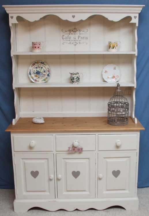 Vintage Shabby Chic Painted Dresser